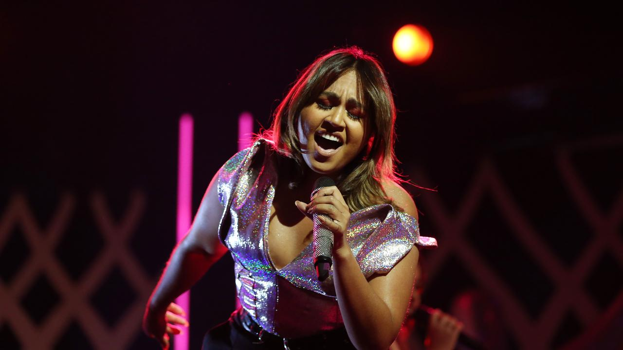 Jessica Mauboy performs during the 2019 AACTA Awards in Sydney. (Photo by Brendon Thorne/Getty Images for AFI)