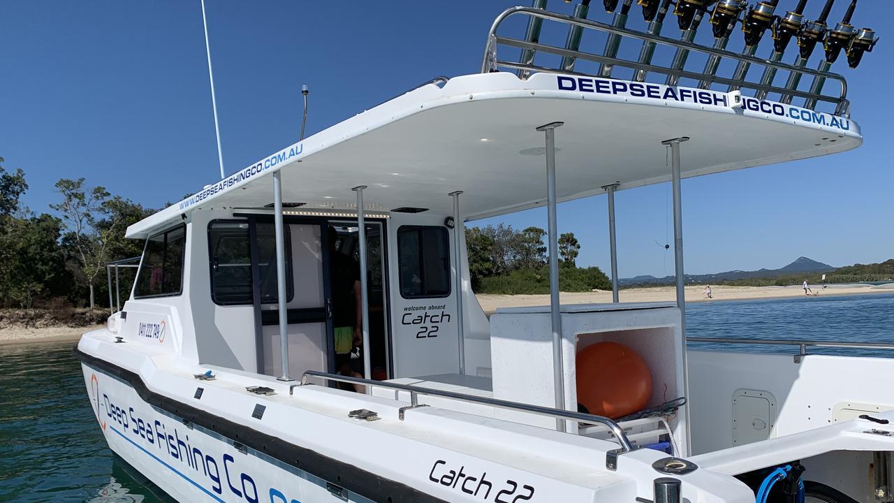 Deep Sea Fishing Co Noosa aboard Catch 22.