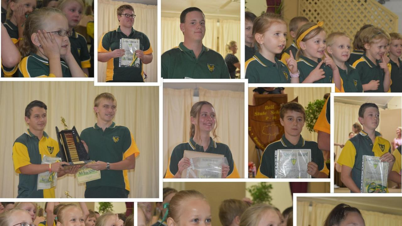 CONGRATULATIONS: Bell State School students shone at their annual awards night.