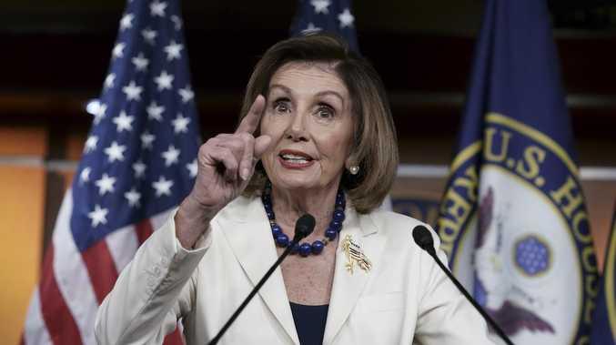 Nancy Pelosi cracks it at reporter over Trump impeachment