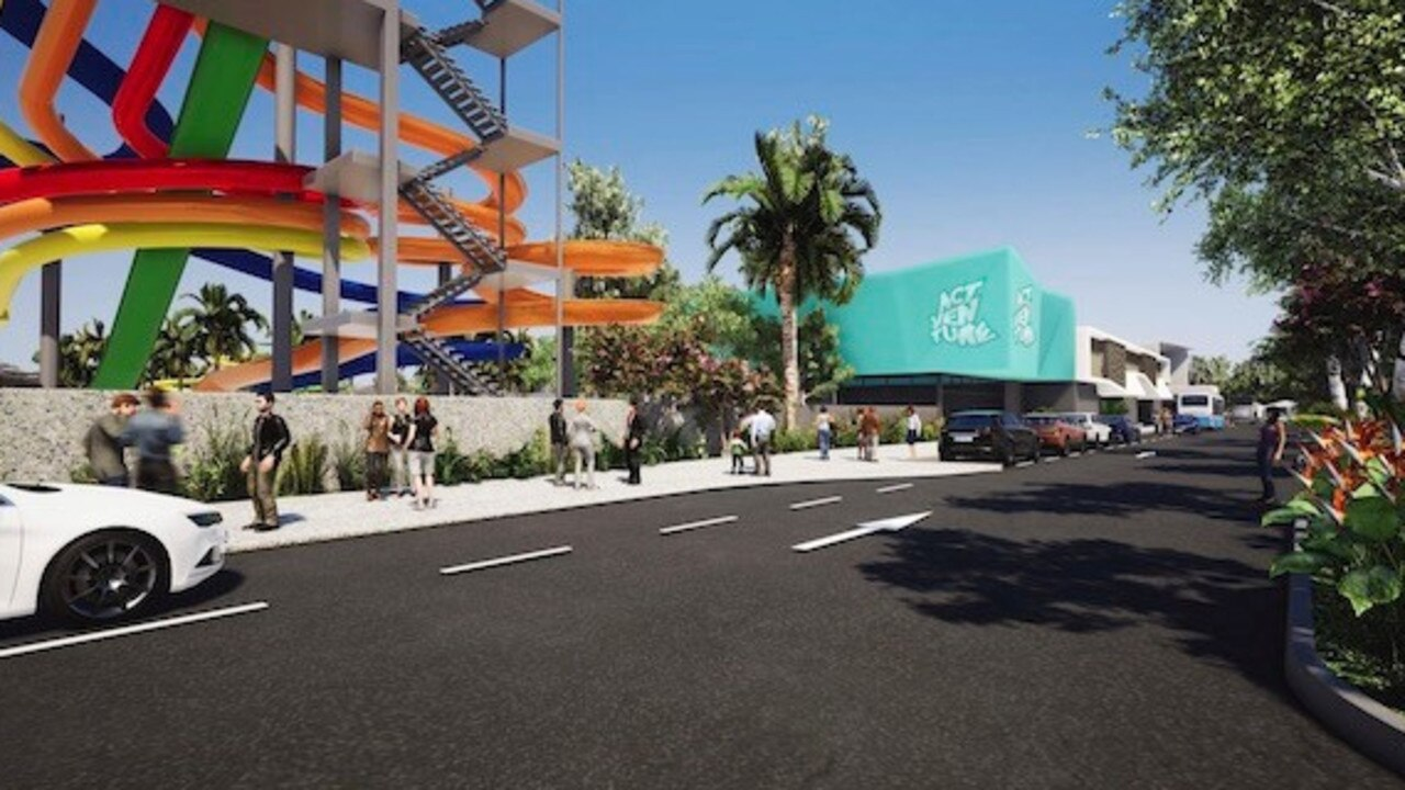 INVIGORATED: The brains behind a $450 million waterpark have announced a new-look masterplan, with Invigorate Resort.