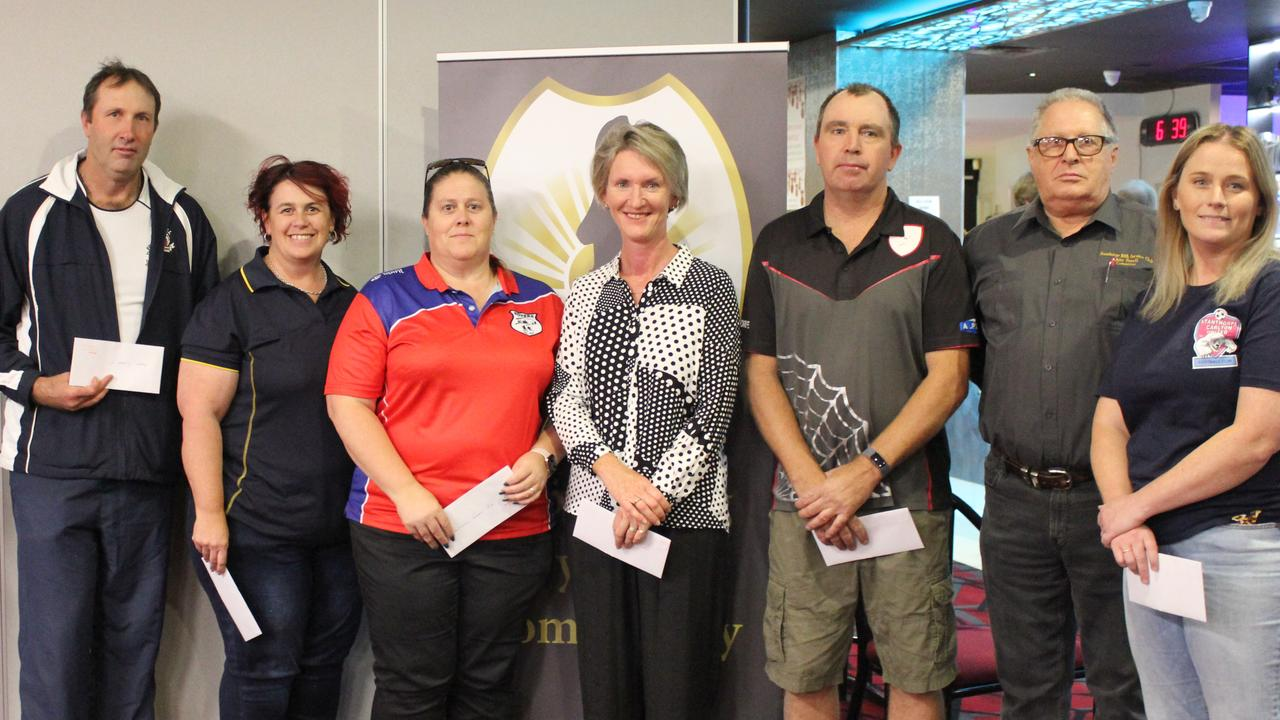 Representatives from Football Stanthorpe clubs included Stanthorpe City, International Club, Ballandean, Football Stanthorpe, Stanthorpe United and Carlton United with RSL committee member John Powell.