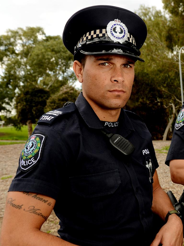 Waylon Johncock has been working for SA Police for 10 years as a Senior Community Constable and is based in a remote community on the Nullarbor.