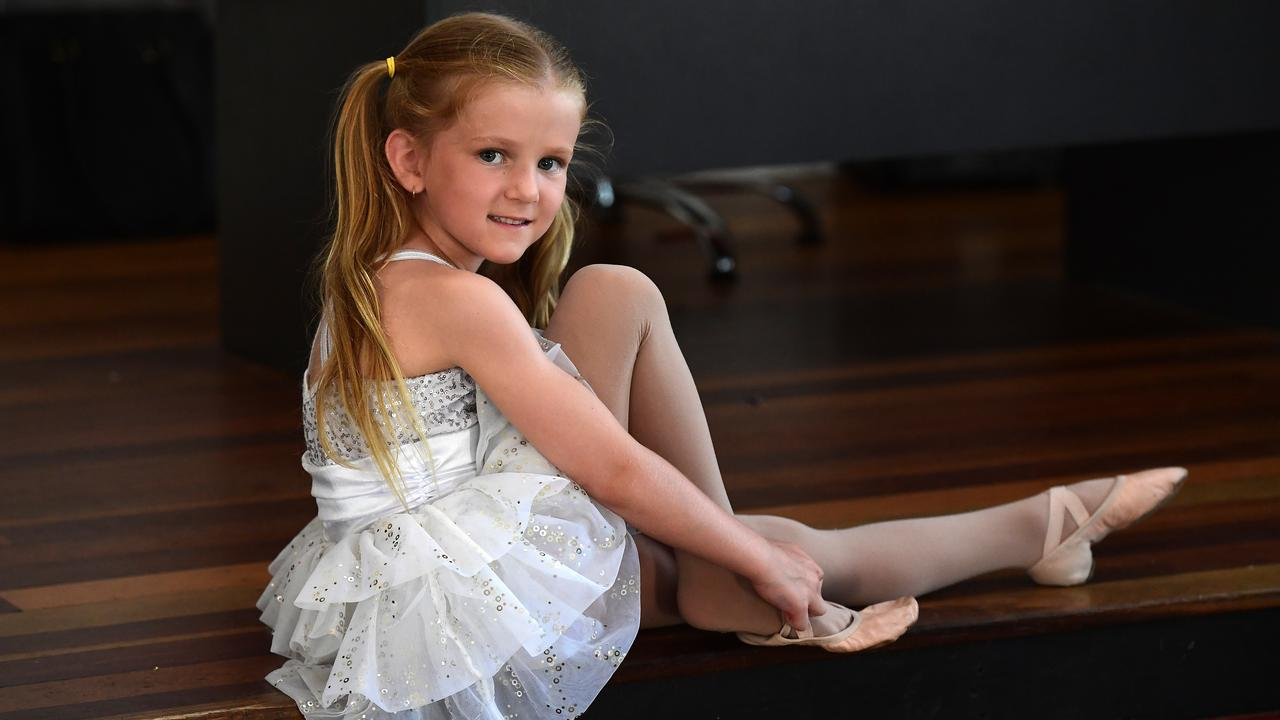 TALENT: Matilda Scheuer has excelled in two sports over the past 12 months. Dancing at TNT Dance studios and in football for the Diggers Football Club.   Picture: Mike Knott.