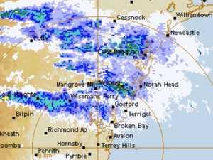 'It's not rain': Eerie BoM map explained