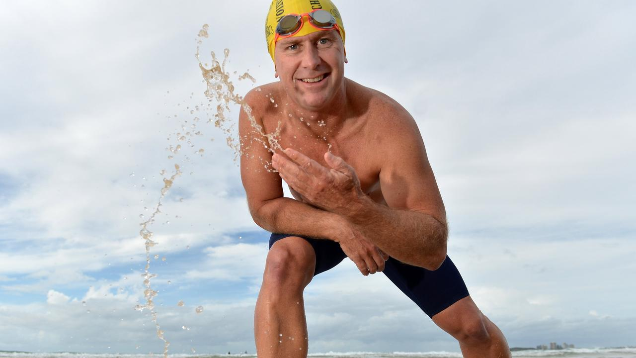 Sam Penny is the first person in history to attempt the English Channel swim in winter. Photo: Patrick Woods/Sunshine Coast Daily