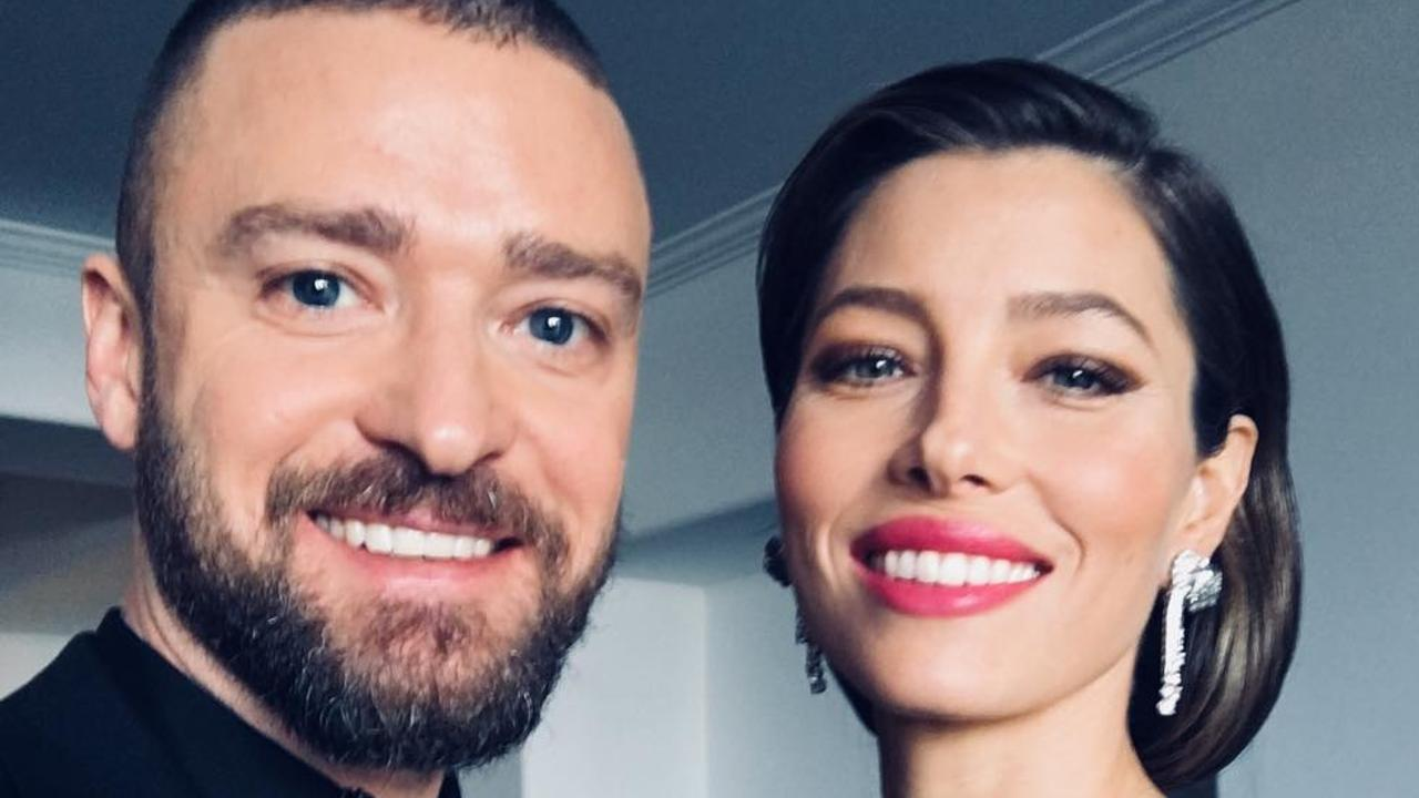 Justin Timberlake and Jessica Biel. Picture: Instagram