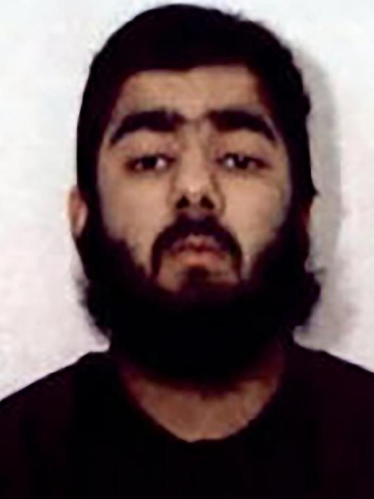 London Bridge attacker Usman Khan. Picture: West Midlands Police/AP
