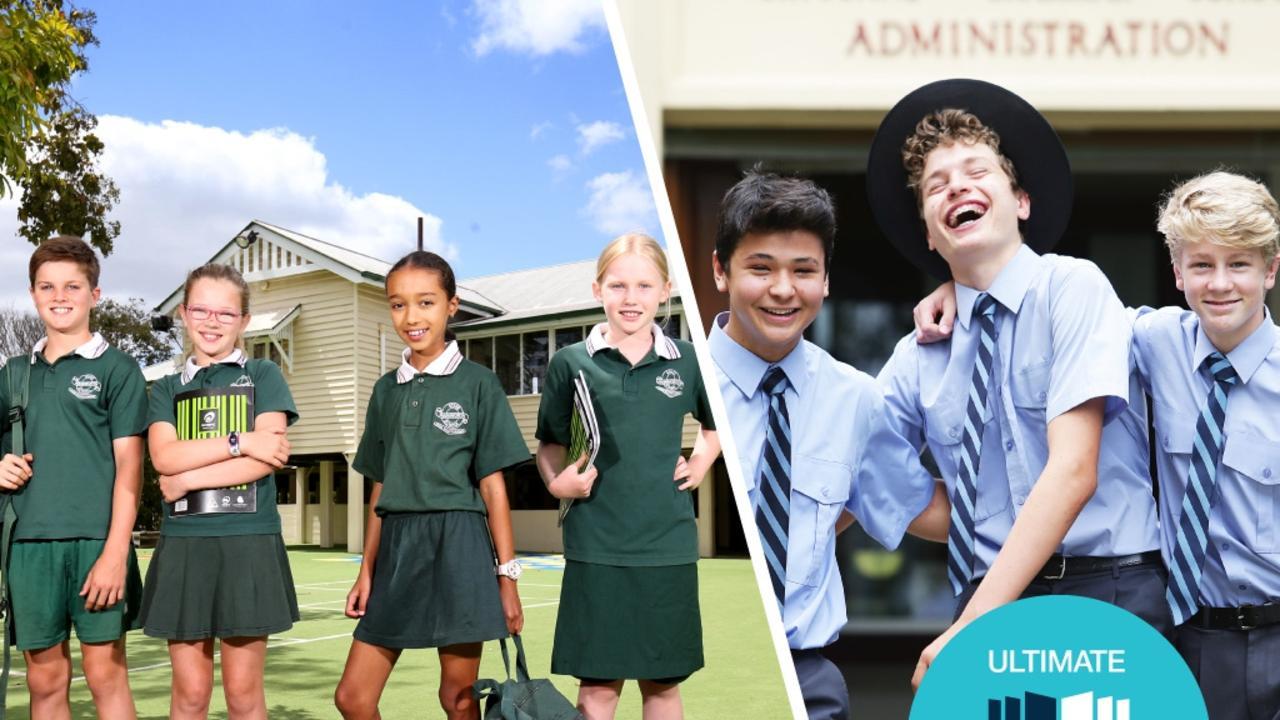 Five years of NAPLAN – Queensland's best schools. Photo: Courier Mail