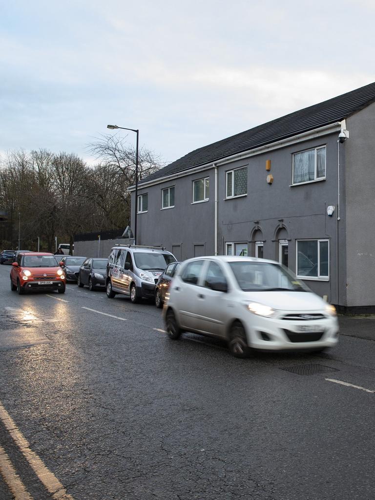 A Stoke-on-Trent street near an address believed to be linked to terrorist Usman Khan.