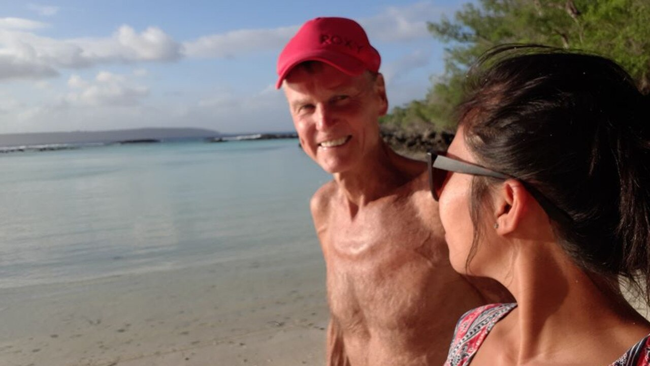 He and his wife Rheanna had a property in the Philippines which they were getting ready to start running raw food retreats. PICTURE: CONTRIBUTED