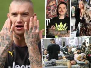 Australians forking out 10K a year for dream tattoos