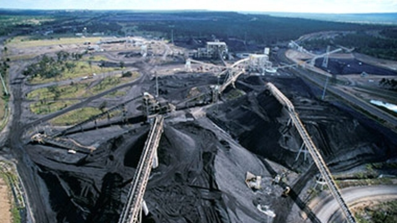 Oakey Creek Mine, operated by Glencore Australia. Picture: Supplied.