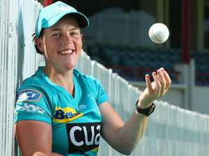 Grace Harris a star before she even bats or bowls