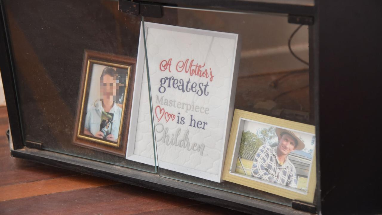 A photo of Jeanette Ferguson's son will always have a place in her TV cabinet.
