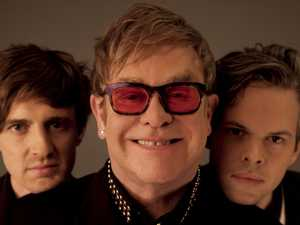 Elton's passion for helping Aussie artists
