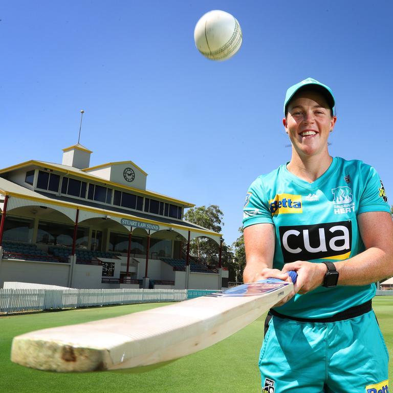Brisbane Heat player Grace Harris. Photographer: Liam Kidston.