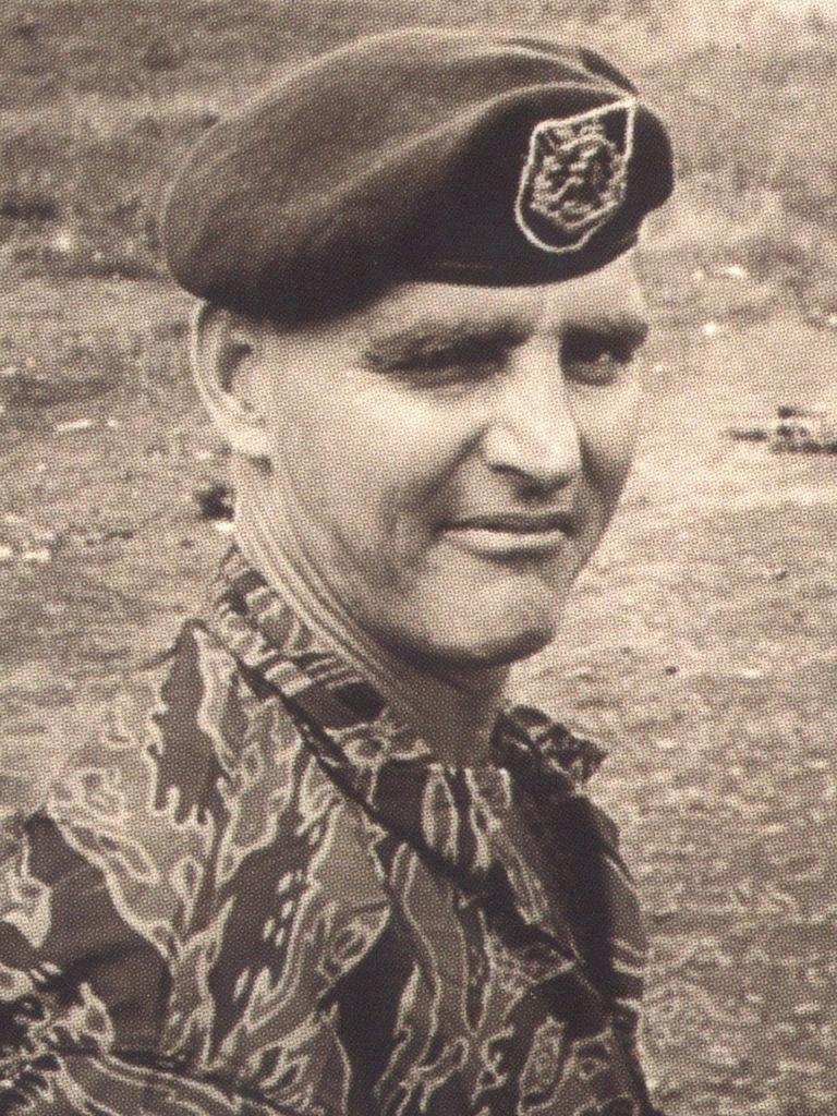 A young Keith Payne during his time in the Army.