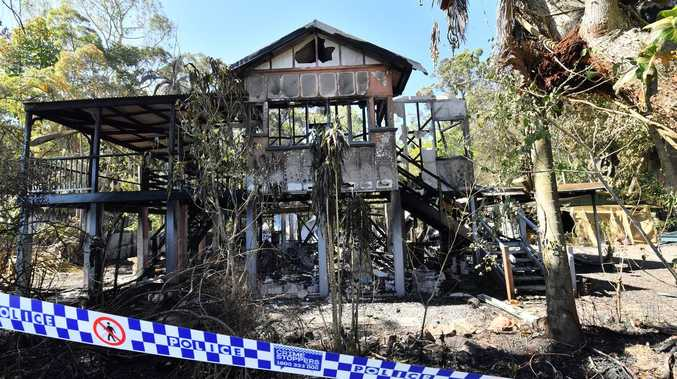 Family 'distraught' after fire tears down hinterland home