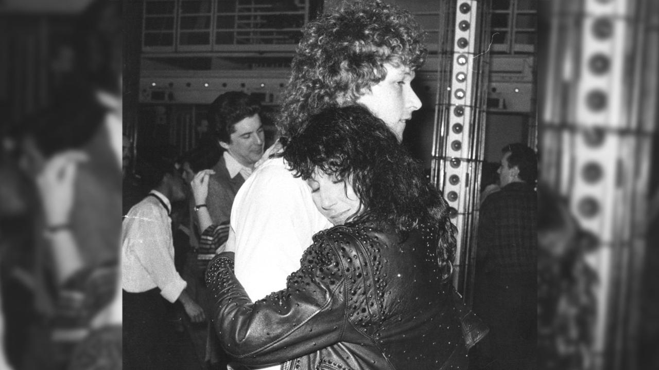 Rangers great Ron Duguay dancing with Cher at Studio 54 in 1982. Picture: Vernon Shibla