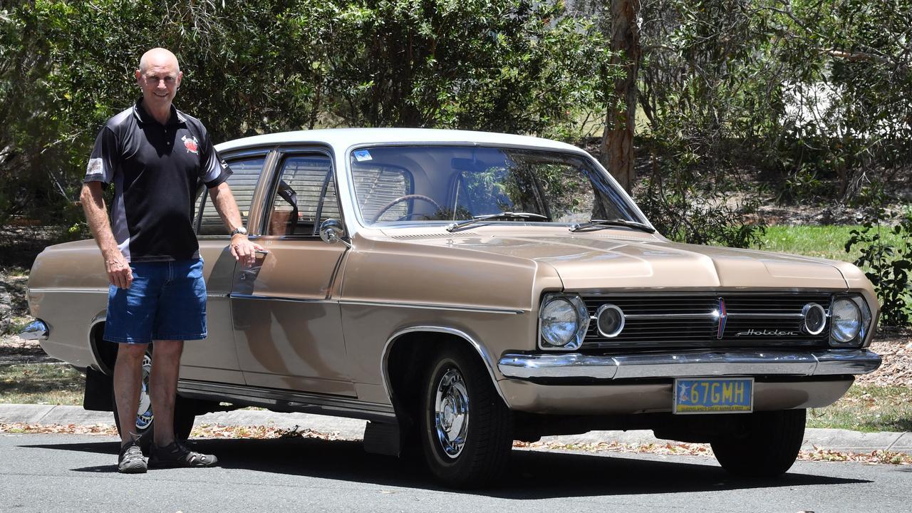 KEEPING IT IN THE FAMILY: Peter Kilfoyle with his 1967 HR Holden Premier Sedan. Photo: John McCutcheon / Sunshine Coast Daily