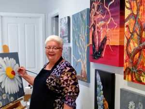 Women share arty side for a good cause