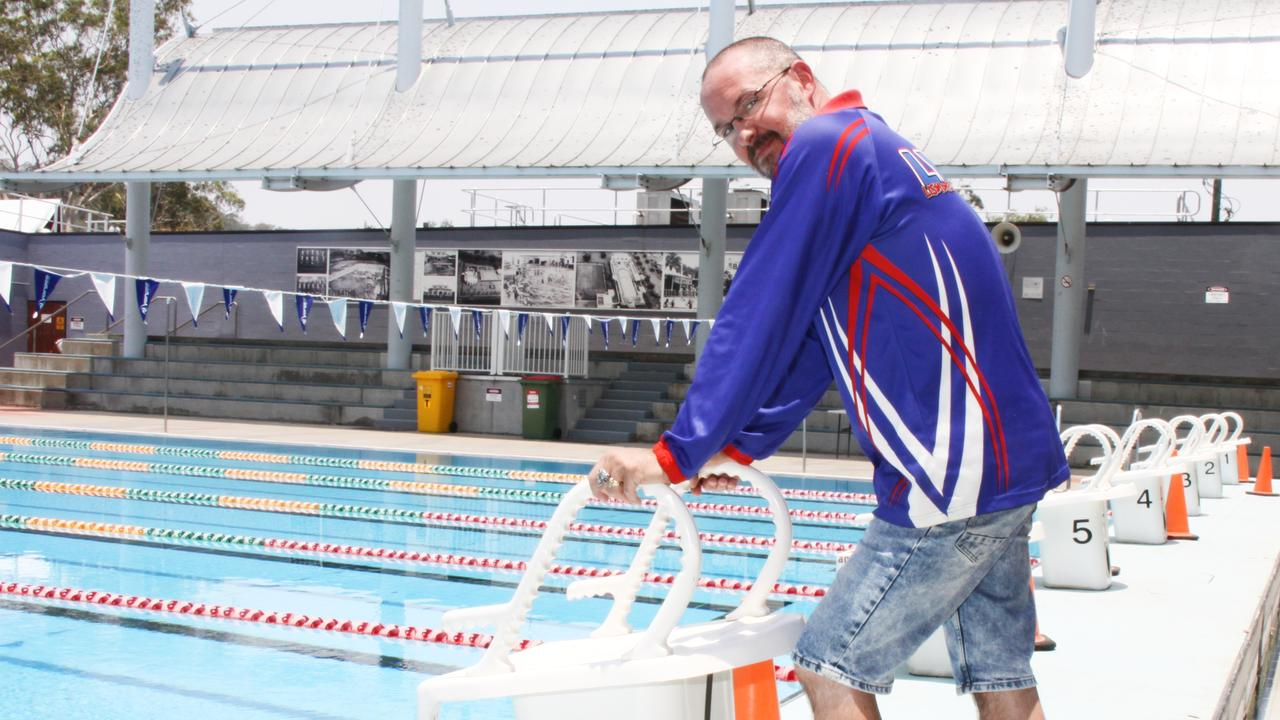 NATIONAL SELECTION: Lismore Workers Swim Team head coach Peter Harvey is thrilled that he and athlete McKinley Arnison, 14, have been selected for the Australia Para Swimming Squad.