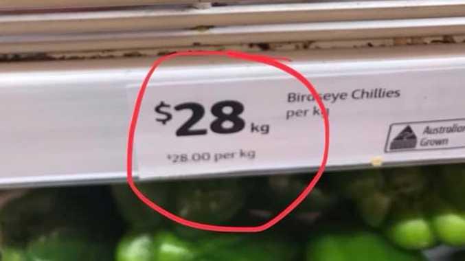 Coles 'insane' $147 price jump divides
