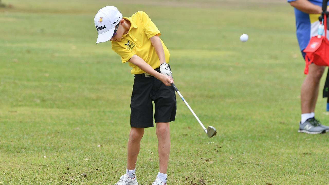 Cody Anderson at the BITS Junior Open Golf Day. PICTURE: Mike Richards