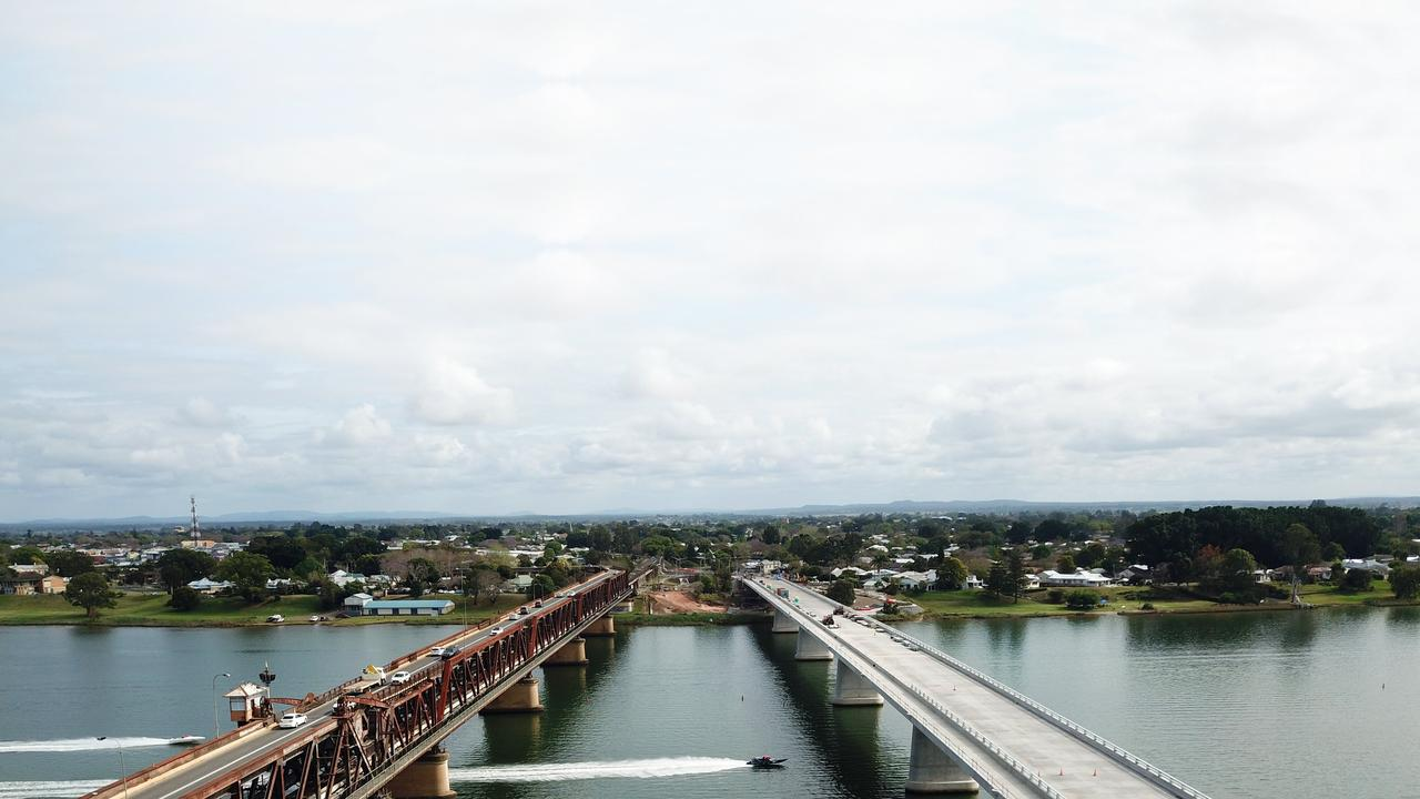 Drone footage from the 2019 Bridge to Bridge at Grafton.