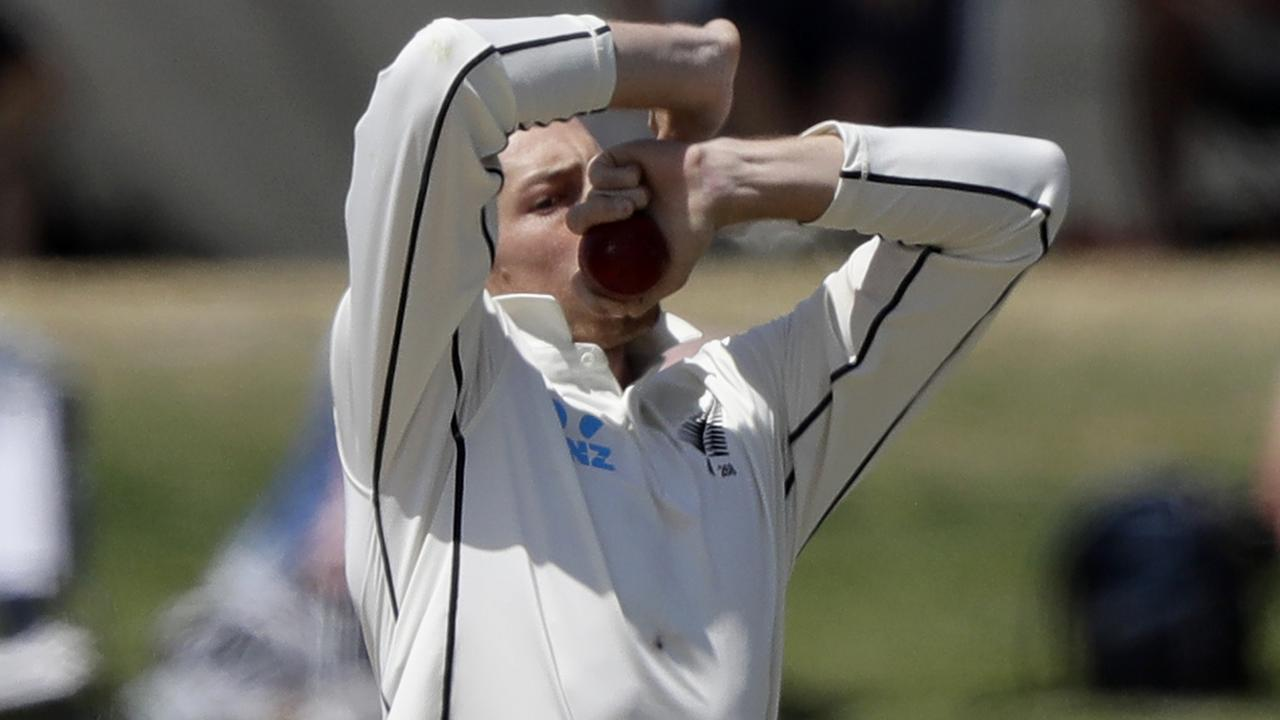 Mitchell Santner's best Test figures are only 3-53.