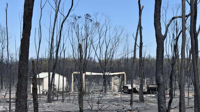 Scorched earth greets Cypress Gardens evacuees