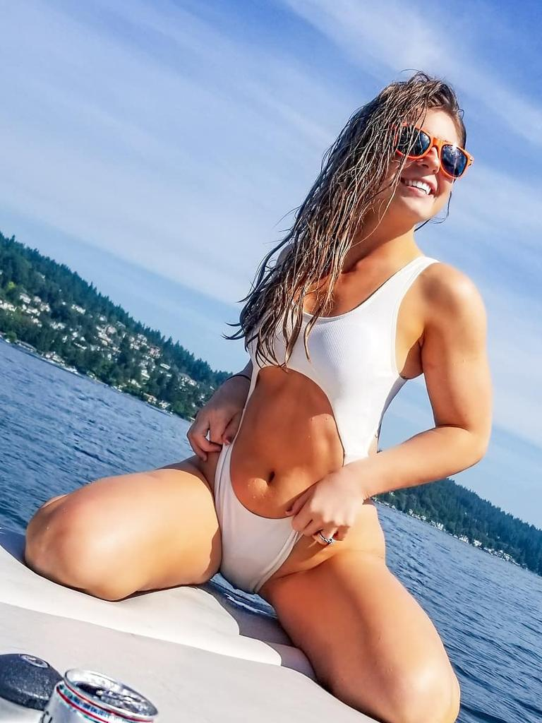 Oak Schuetz said she was dating Sam Burgess. Picture: Instagram