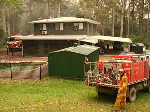 Scenes from the Mount Browne Rd fire