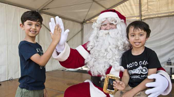 PICTURES: Christmas comes early at shopping precinct