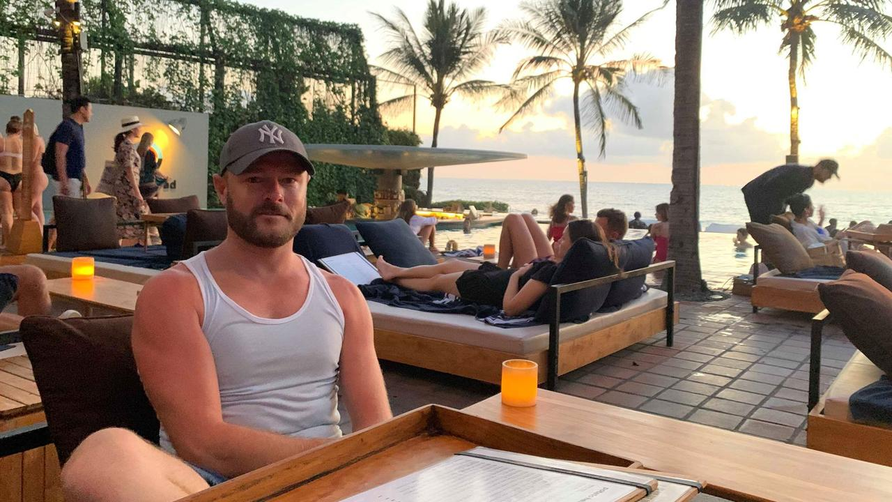 Alex Bateman says he will never return to Bali after the incident.