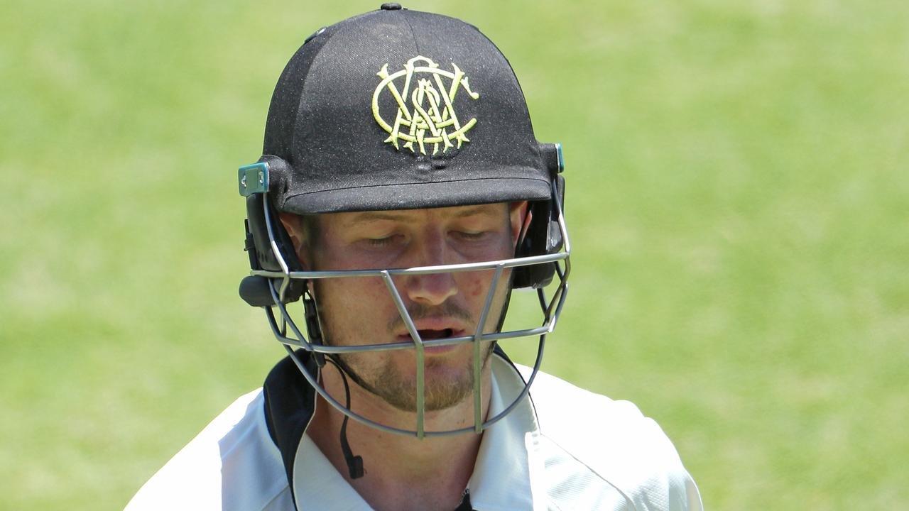 Cameron Bancroft has been caught at leg gully during six of his last seven Sheffield Shield innings.