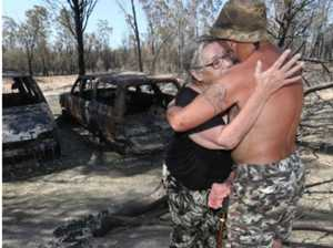 'Like Doomsday movie': Residents return after bushfire hell