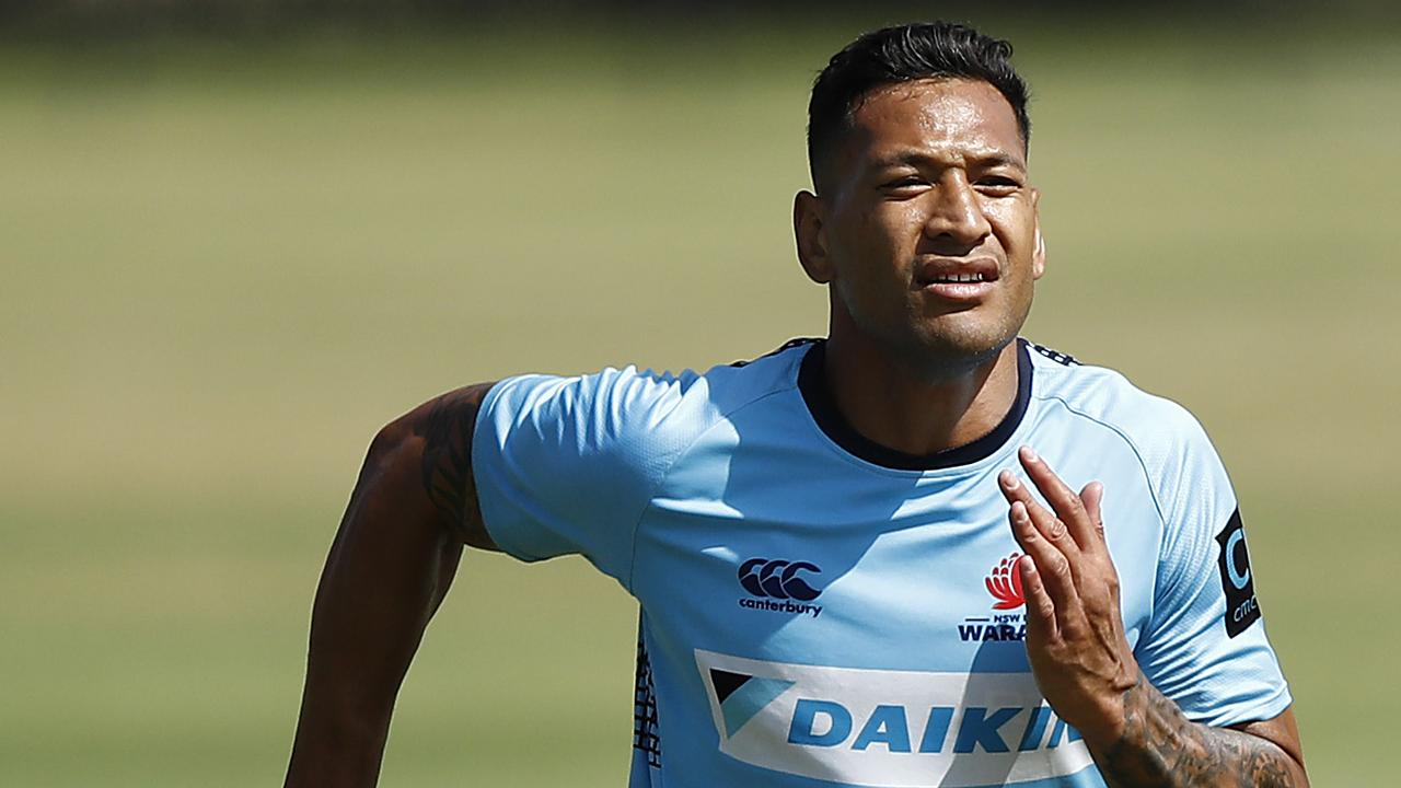 Rugby league boss Peter V'landys made it clear recently there is no place for Israel Folau in the NRL. But the sacked Wallabies star is determined to play.