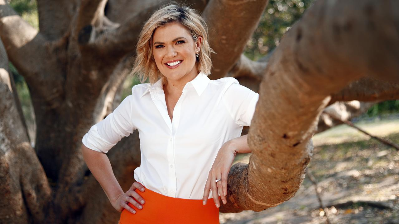 Studio 10 Brisbane Sarah Harris on the work-life balance and why it's so difficult for mothers to cope. Picture: Sam Ruttyn