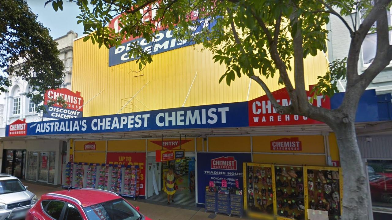 ON THE RUN: Police are pursuing a man alleged to have stolen items from Chemist Warehouse in the Rockhampton CBD.