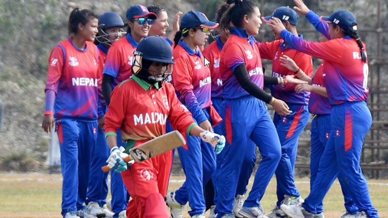 Maldives were dismissed for the second-lowest team total in WT20I history