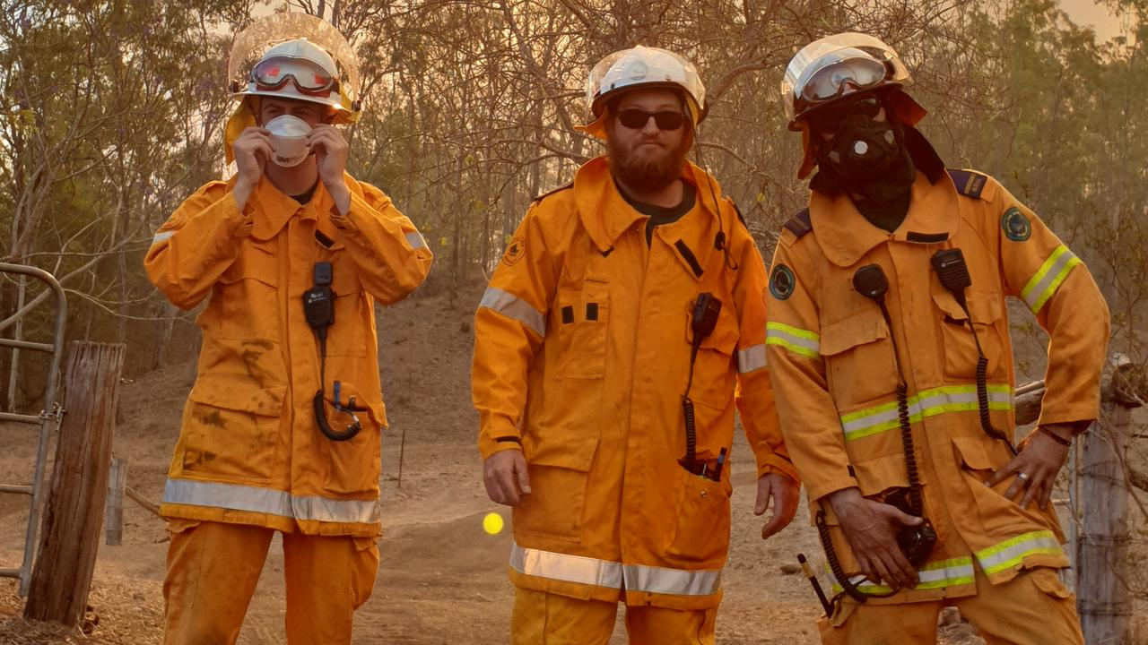 HEROES: The Thornton and Mulgowie communities came together to raise more than $2000 for local fire crews who battled dangerous bushfires in the area last month. Picture: Craig McIntyre