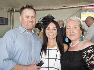 ( From left ) Mark Quinlan, Sharyn Garrett and