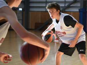BASKETBALL U16 STATE TRIALS: Fletcher Doyle