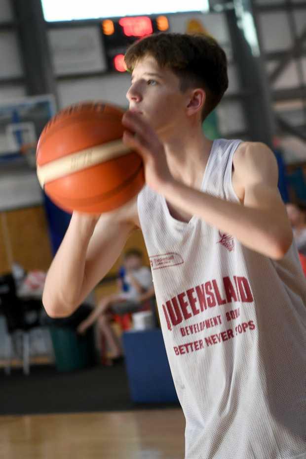 Image for sale: BASKETBALL U16 STATE TRIALS: Ben Tweedy