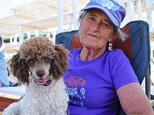Carol Rix with Mandy.