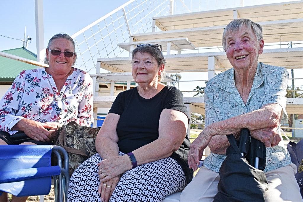 Image for sale: Kate Taylor, Jacki Harvey and Millie Marsden.