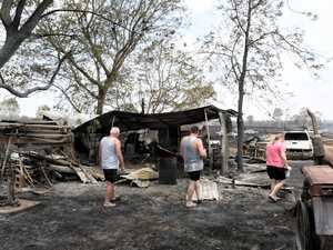 Bundamba fires aftermath