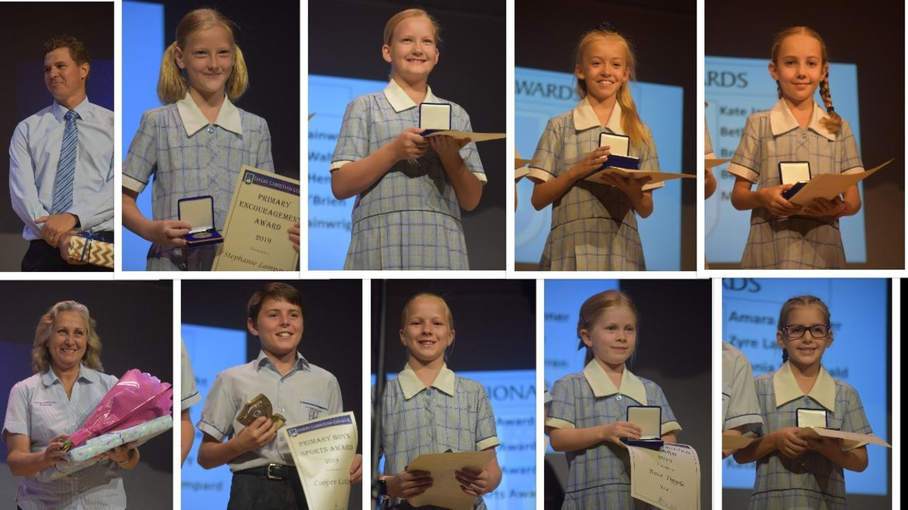 WINNERS: Dalby Christian College recognised their top achieving students.